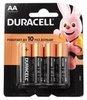 Батарейки Duracell AA (4 шт.)