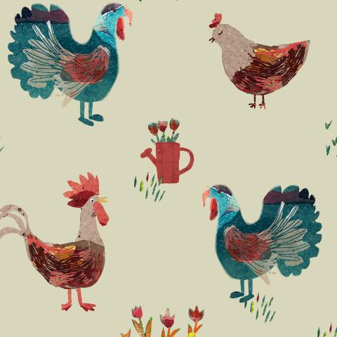 farm birds/ птицы на ферме