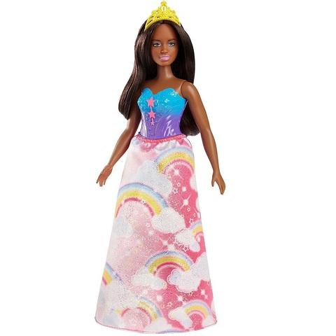 Барби Дримтопия Принцесса Радужной Бухты Брюнетка