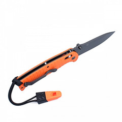 Складной нож Ganzo G7413P-WS (черный, оранжевый)