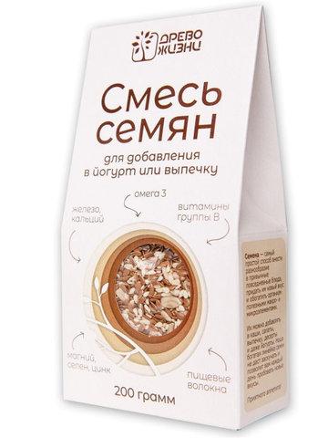 Семена смесь для добав.в йогурт и выпечку, 400 гр. (Источник жизни)