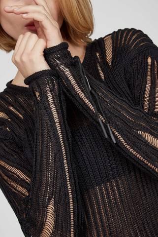 Женское черное льняное платье M-MARYLAND Diesel