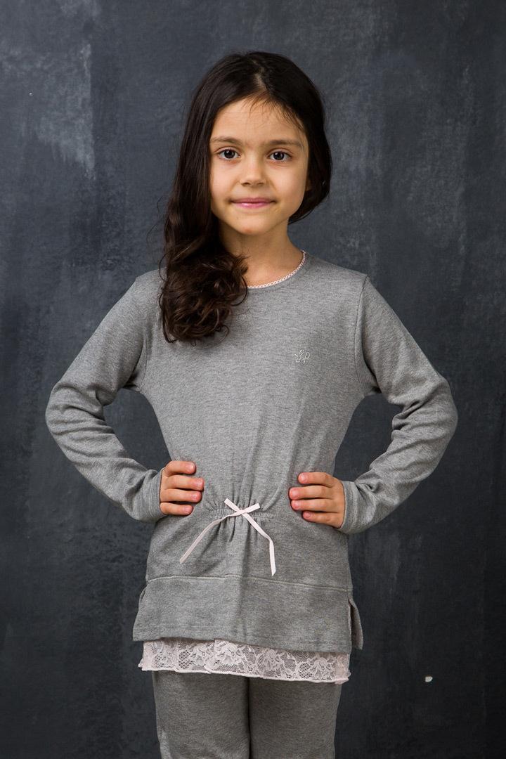 Детский домашний костюм для девочек La Perla