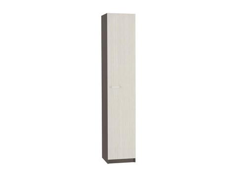 Шкаф одностворчатый Марта ШК-115 бельевой Браво Мебель венге, дуб белфорд