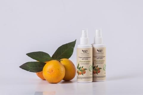 Дезодорант для тела с эфирными маслами