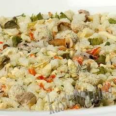 Суп рисовый с мясом 'Леовит' в сухом виде в магазине Каша из топора