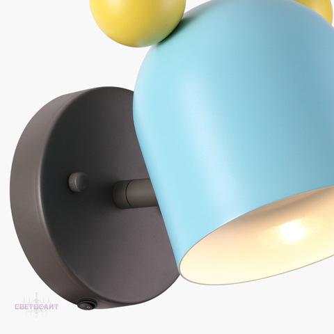 Настенный светильник 4732/1W серии Mickey