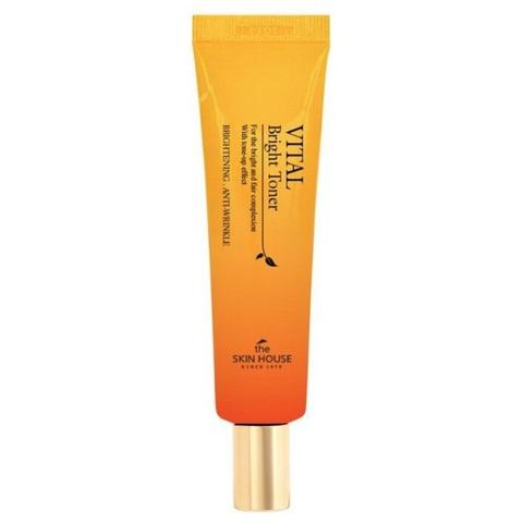 The Skin House Vital Bright Eye Cream витаминизированный осветляющий крем для век