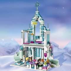 Холодное Сердце 10664 Волшебный ледяной замок Эльзы 709 д конструктор