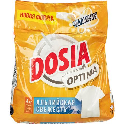 Порошок стиральный DOSIA Optima автом Альпийск свеж 4 кг