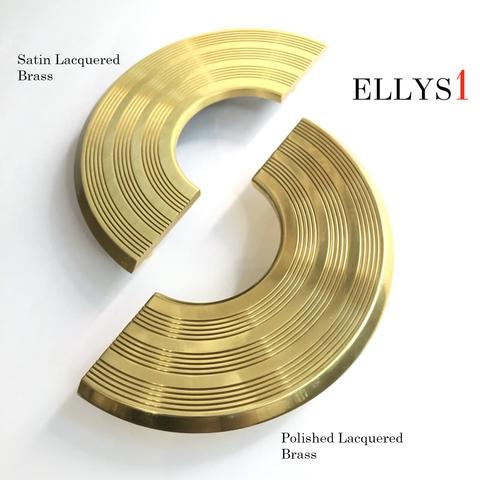 Скоба Lavanda / Satin Lacquered Brass