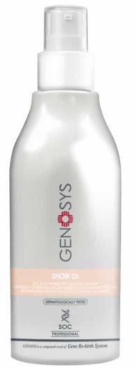 GENOSYS Snow О2 очищающая кислородная пенка для лица 180мл