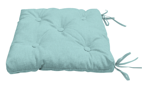 Подушка на стул Адриана голубой