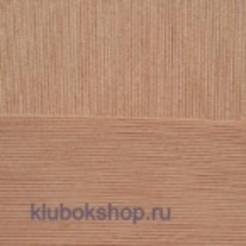 Пряжа Цветное кружево (Пехорка) цвет 99 абрикос купить в интернет-магазине