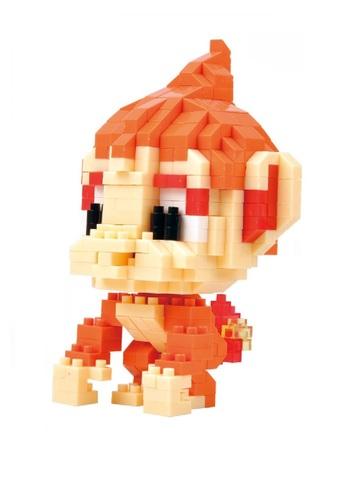 Конструктор Wisehawk & LNO Покемон Чимчар 377 деталей NO. 218 Chimchar Pokemon Gift Series