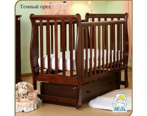 Кровать Лель АБ 21.2 Лаванда темный орех