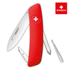 Швейцарский нож SWIZA D02 Standard, 95 мм, 6 функций, красный (блистер)