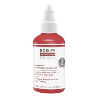 Bosley PRO Интенсивная терапия: Скраб обновляющий для кожи головы (Rejuvenating Scalp Scrub), 118мл
