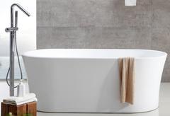Акриловая ванна ABBER AB9201-1.6 160х80 см отдельностоящая