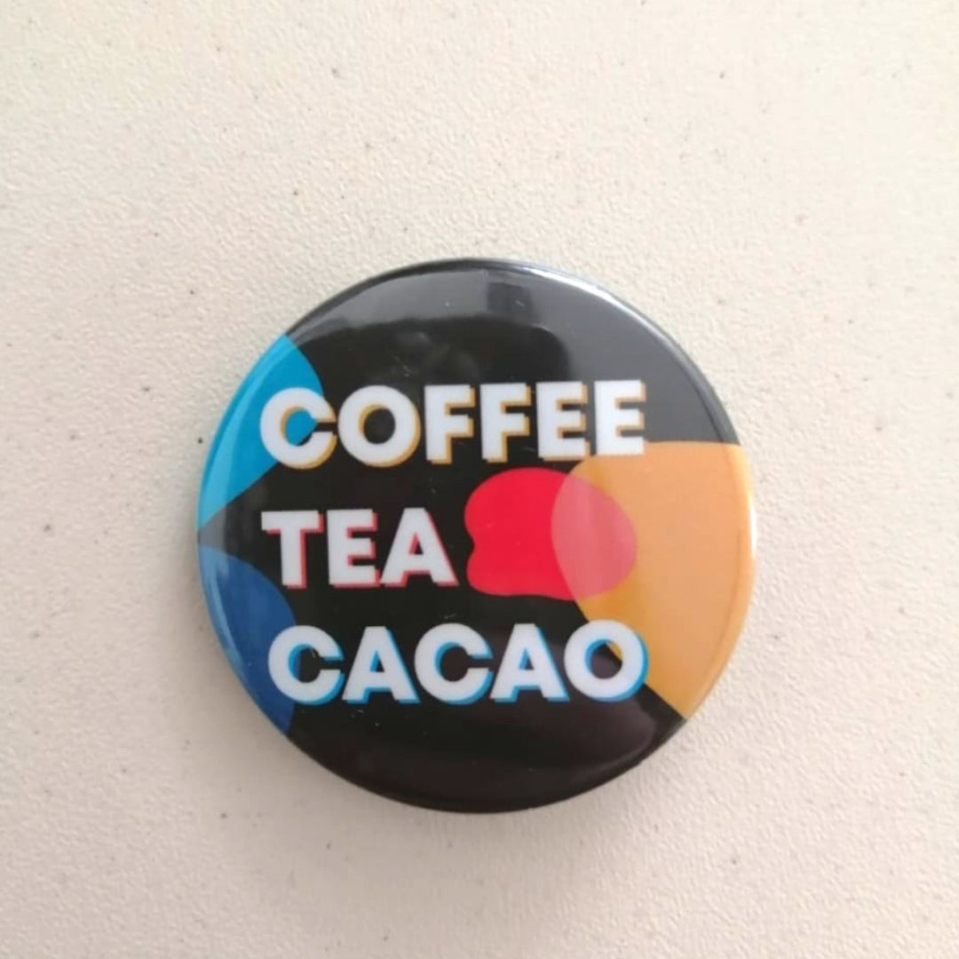 Значок Coffee Tea Cacao (цветной)