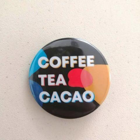 Значок Coffee Tea Cacao (цветной)