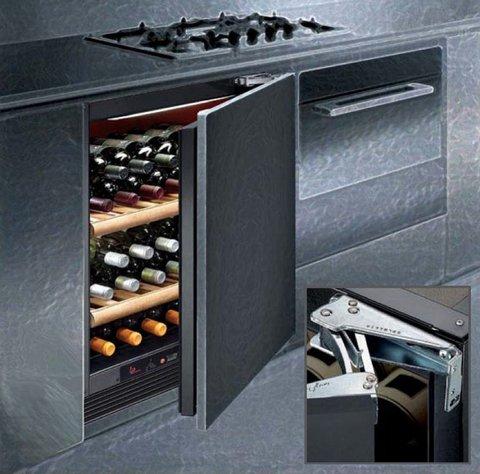 Встраиваемый винный шкаф IP Industrie CI 140 CF X