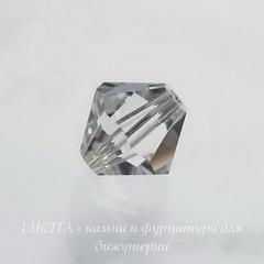 5328 Бусина - биконус Сваровски Crystal 8 мм