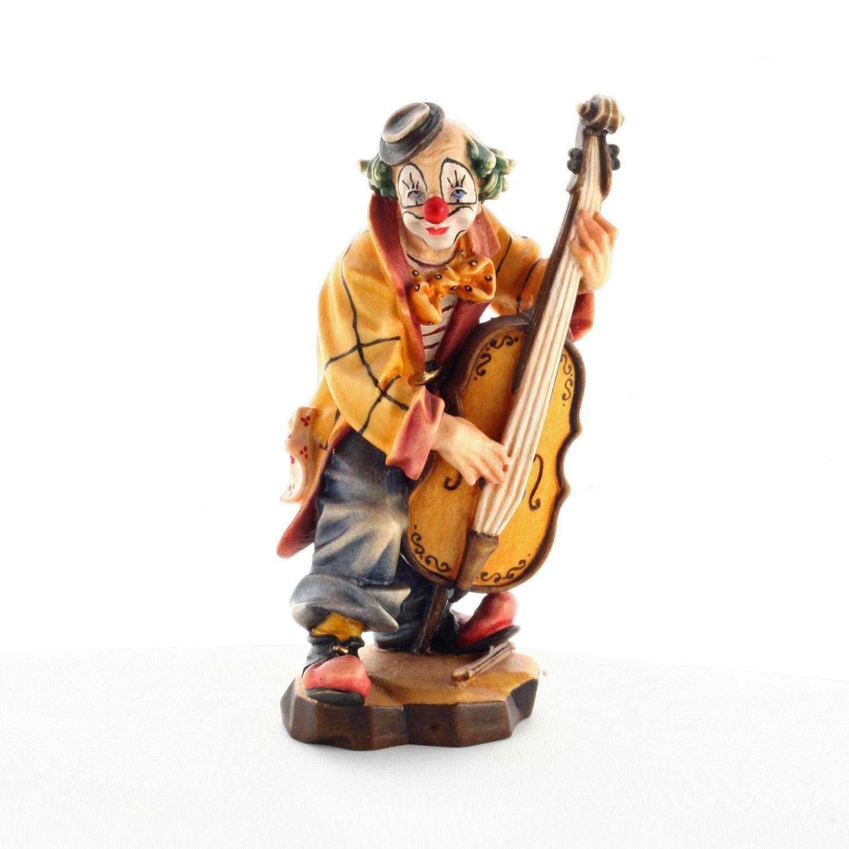 Клоун-басист