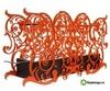 Напольный биокамин Silver Smith EMOTION STANDART оранжевый