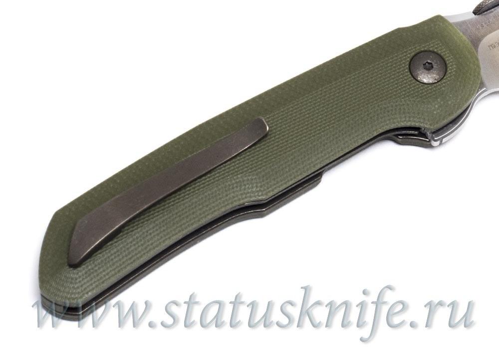Нож Bob Terzuola Compact Tactical Folder OD Green - фотография