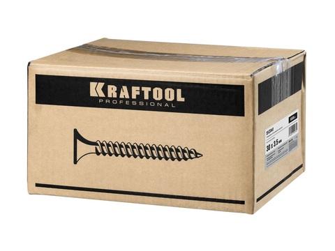 Саморезы СГМ гипсокартон-металл, 30 х 3.5 мм, 6 500 шт, фосфатированные, KRAFTOOL