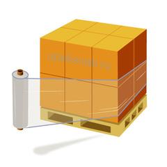 Стрейч-плёнка прозрачная, 1,4 кг./500 мм.