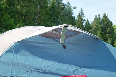 Палатка Canadian Camper KARIBU 3, цвет royal, вентиляция.