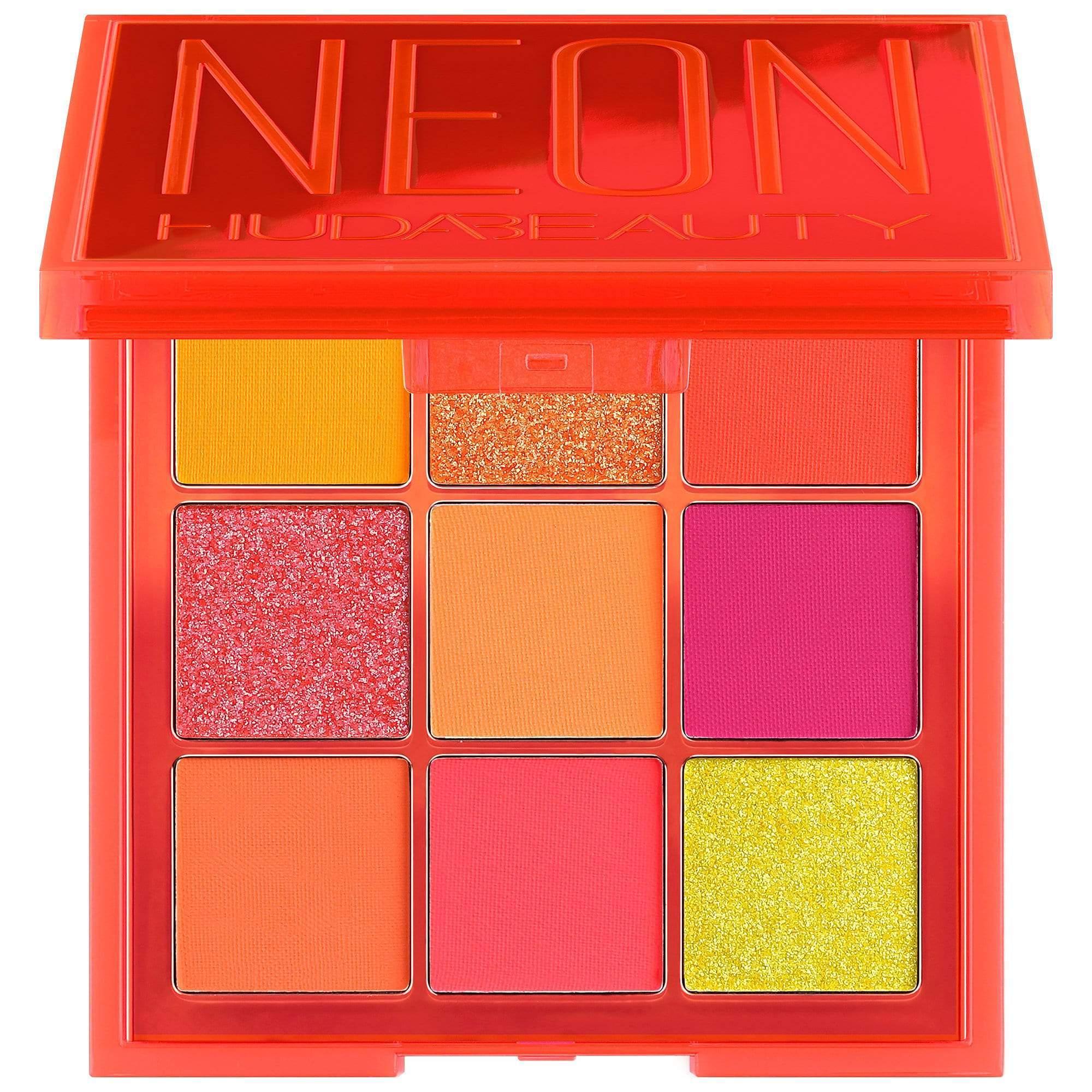 Палетка теней  Huda Beauty Orange Neon Obsessions