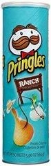 Чипсы Pringles Ranch Принглс со вкусом чесночного соуса 158 гр