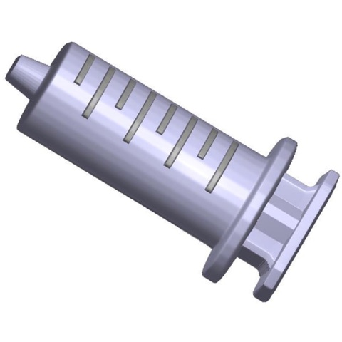 Пластиковая форма для шоколада жен. ШПРИЦ (100х50мм)