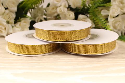 Парча 12мм золото (25ярд)