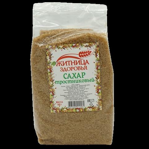 Сахар тростниковый ЖИТНИЦА ЗДОРОВЬЯ, 500 гр