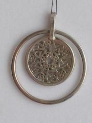 Даяна (кулон из серебра)