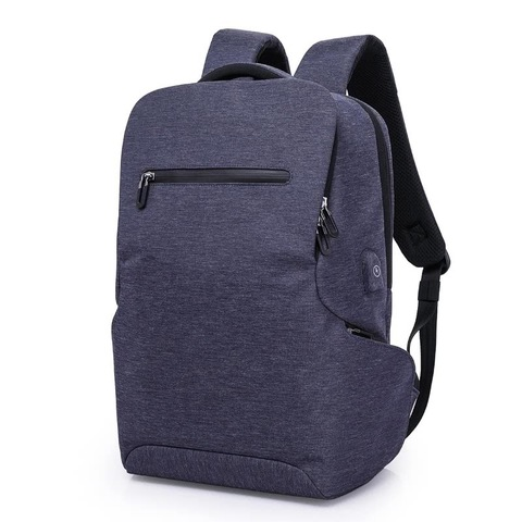 Рюкзак с карманами стильный для ноутбука 15,6 КАКА 803 синий