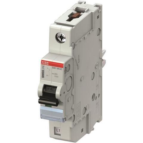 Автоматический выключатель 1-полюсный 4 А, тип C, 10 кА S401M-UC C4. ABB. 2CCS571001R1044