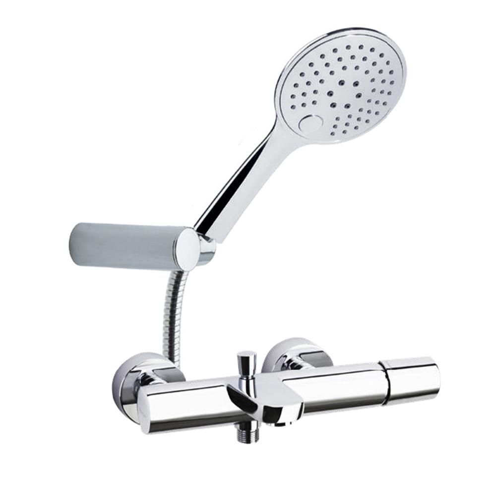 Смеситель для ванны с изливом и душевым комплектом TZAR 340501TR