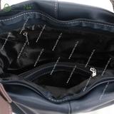 Сумка Саломея 610 мульти джинс + шоколад