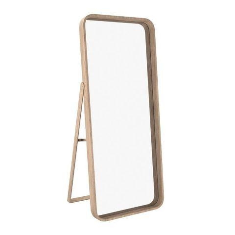 Зеркало напольное Иконс (беленый дуб)