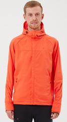 Элитная куртка для лыж и зимнего бега Gri Темп мужская оранжевая