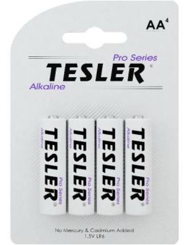 Батарейки Tesler Alkaline LR6, AA (4/40) BL