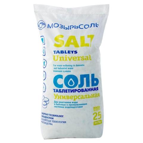 Соль таблетированная 25кг