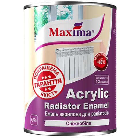 Эмаль акриловая для радиаторов Maxima