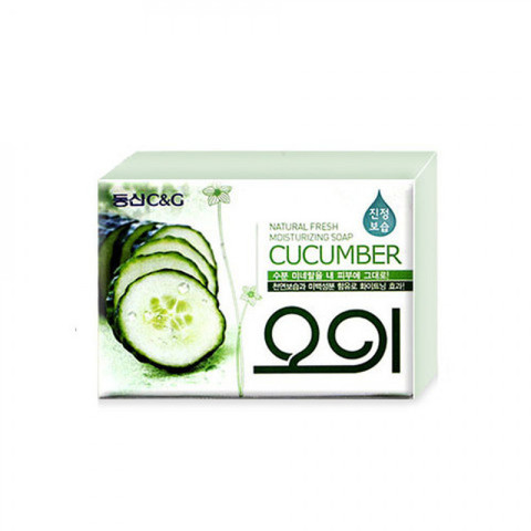 Мыло туалетное огуречное New Cucumber soap 100g