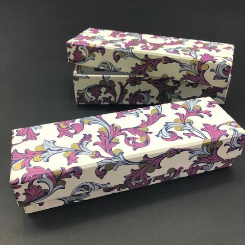 Коробка подарочная Часы Флорентийский фиолетовый, 2